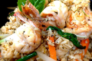Shrimp Basil Fried Rice - delivery menu