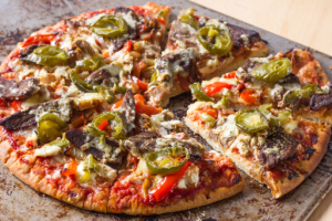 Philly Steak Pizza - delivery menu