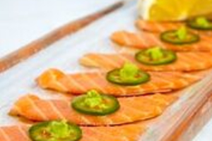 Natsumi Carpaccio with Salmon Jalapeno - delivery menu