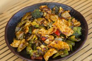 11. Spicy Hunan Chicken - delivery menu