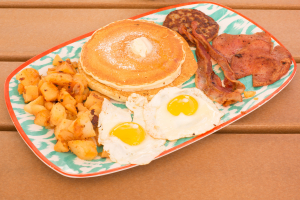 Breakfast Sampler Platter - delivery menu