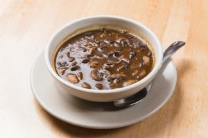 1 Quart Mushroom Barley Soup - delivery menu