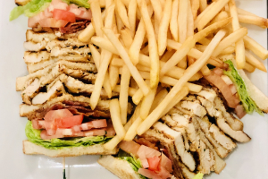 Chicken Club Sandwich - delivery menu