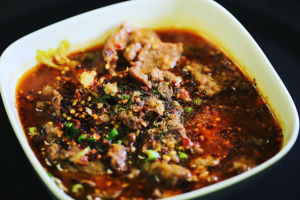501. Boiled Beef in Spicy Szechuan Sauce - delivery menu