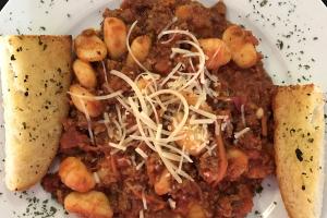 Gnocchi Bolognese - delivery menu