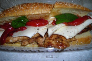 Grilled Chicken Hero - delivery menu