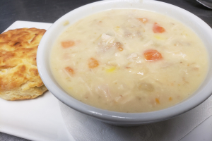 Turkey, Corn and Potato Chowder - delivery menu