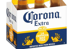 Corona (6 Pack) Must be 21 to purchase. - delivery menu