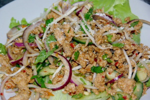 Larb Chicken Salad - delivery menu