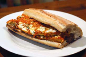8. Regular Chicken Parmesan Sandwich - delivery menu