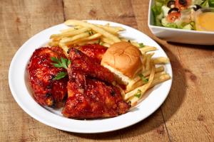 BBQ Chicken Dinner - delivery menu