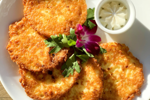 Potato pancakes with Sour Cream - delivery menu