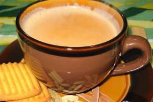 Hot Indian Masala Tea - delivery menu