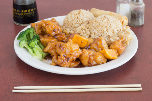 H1. Orange Chicken - delivery menu