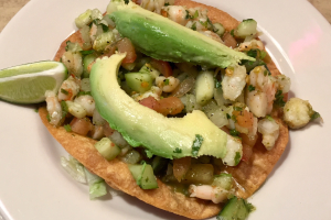Ceviche Tostada Lunch - delivery menu