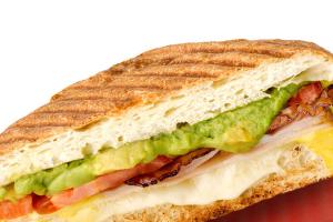 9. Turkey Club Panini - delivery menu