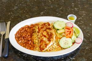 Lunch Pollo Asado - delivery menu