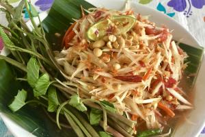 Som Tum Lao Salad *** - delivery menu