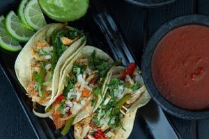 Chorizo, Jalapeno and Onion Taco - delivery menu
