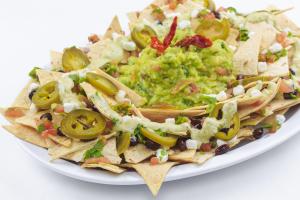 6. Skinny Nachos - delivery menu
