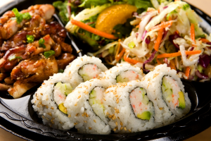 California Roll and Chicken Combo Plate - delivery menu