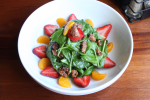 Citrus Spinach Salad Dinner - delivery menu