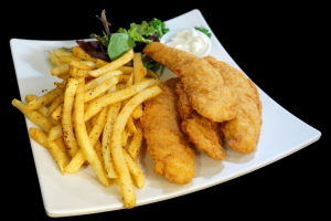 Chicken Tenders with Fries - delivery menu