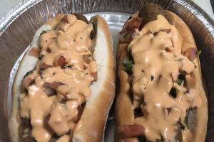 Italian Vegan Hotdog - delivery menu