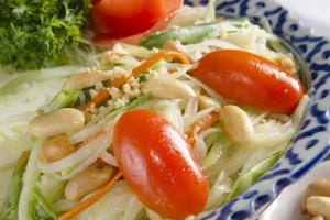25. Papaya Salad  - delivery menu
