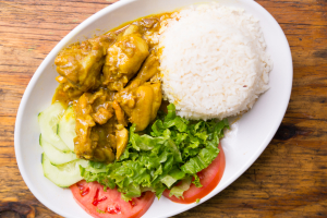 Curry Chicken Meal - delivery menu
