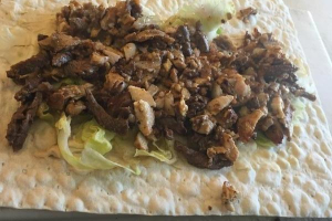 Shawarma Combo Wrap - delivery menu