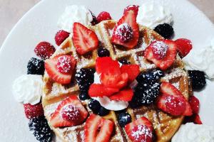 Berry Waffle Breakfast - delivery menu