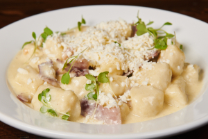Gnocchi and Smoked Prosciutto - delivery menu