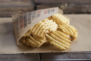 Waffle Iron Fries - delivery menu