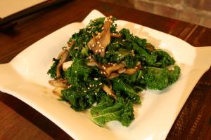 Kale Mushroom - delivery menu
