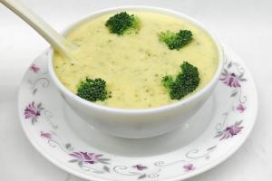 Cream and broccoli - delivery menu