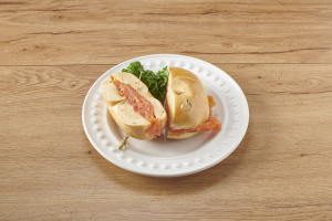 Smoked Nova Scotia Salmon Sandwich - delivery menu