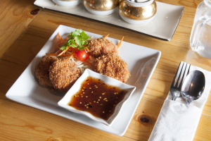 2. Shrimp Cake - delivery menu