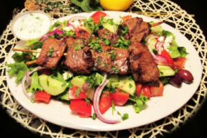Grilled Lamb Salad - delivery menu