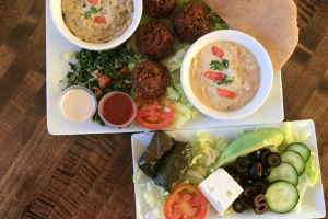 Super Falafel Plate - delivery menu