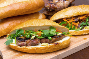 BM2. Banh Mi Thit Heo Nuong - delivery menu