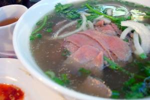 1. Xe Lua Noodle Soup - delivery menu