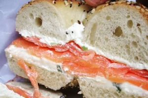 4. Bagel with Flavored Cream Cheese - delivery menu