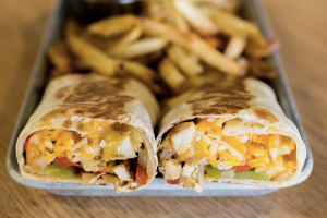 Chicken Fajita Wrap - delivery menu