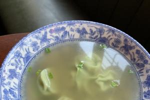 Veggie Wonton Soup - delivery menu