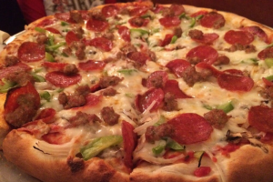 2. Barbary Coast Special Pizza - delivery menu