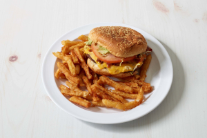 3. Bacon Cheeseburger Deluxe Platter - delivery menu