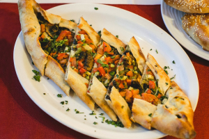 Pide Vegetable Mix - delivery menu