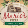 Mario's Pizza a Taste of Italy