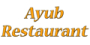 Ayub Restaurant